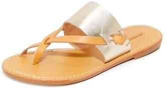 Soludos Women's Slotted Thong Slide Sandal