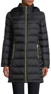 "MICHAEL Michael Kors THE COAT EDIT 36"" Long Down Jacket"