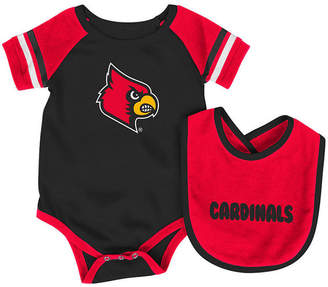 Colosseum Louisville Cardinals Rollout Creeper and Bib Set, Infants (0-9 Months)