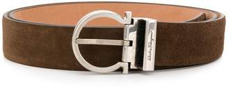 Salvatore Ferragamo narrow shaped belt