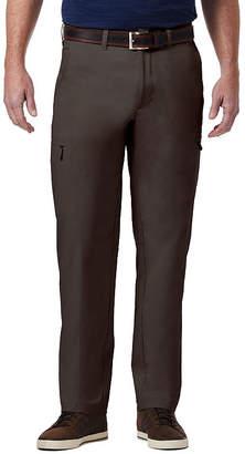 Haggar The Elements Pant Classic Fit Flat Front Pants