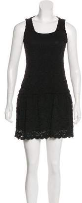 Alice + Olivia Drop Waist Sleeveless Dress