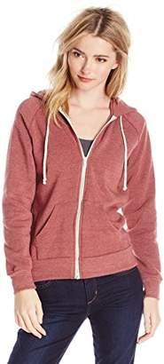 Alternative Women's Adrian Fleece Zip Front Hoodie Sweatshirt $54 thestylecure.com
