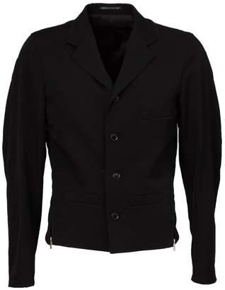 Yohji Yamamoto fitted zip detail jacket