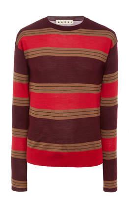 Marni Striped Wool T-Shirt