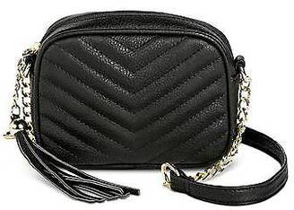 Mossimo Supply Co. Women's Quilted Crossbody Faux Leather Handbag with Tassel - Mossimo Supply C... $22.99 thestylecure.com