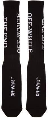 Off-White Black The End Socks