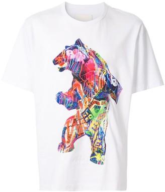 Juun.J bear T-shirt