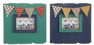 "Creative Co-op Flag Photo Frame - 7""x5\"" - Set of 2"