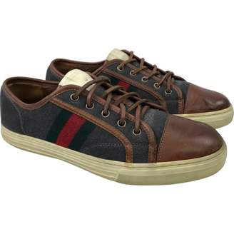 Gucci Leather low trainers