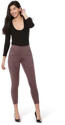 Lola Jeans Mid-Rise Pull-On Stretch Ankle Pants- Janice