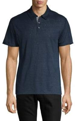 Vince Short-Sleeve Linen Polo
