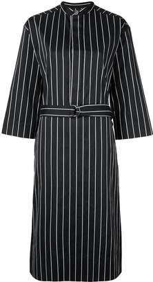 Bassike pinstripe oversized shirt dress