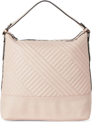 Jessica Simpson Powder Blush Ryanne Quilt Hobo Bag