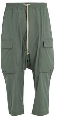 Rick Owens Pantaloni cargo cropped trousers