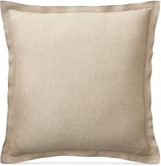 "Lauren Ralph Lauren Closeout! Metallic Herringbone 20"" Square Decorative Pillow Bedding"