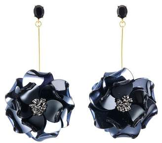 Oscar de la Renta Petunia Long Drop Earrings