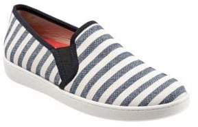 Trotters Americana Slip-On Canvas Sneakers