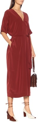 Co Crepe midi dress
