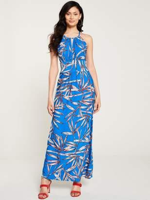 Wallis Bamboo Maxi Dress - Blue