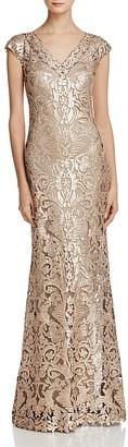 Tadashi Shoji Sequin Lace Gown $428 thestylecure.com