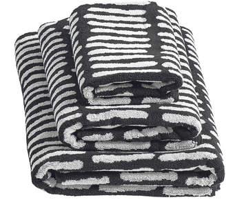Hay HAY - 'He' Towel - Black - Guest