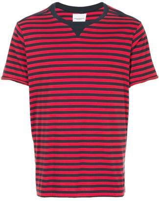 Takahiromiyashita The Soloist striped crewneck T-shirt