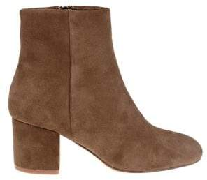 Splendid Nixie Round Toe Suede Booties
