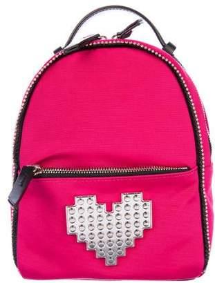 Les Petits Joueurs Baby Mick Metal Heart Backpack