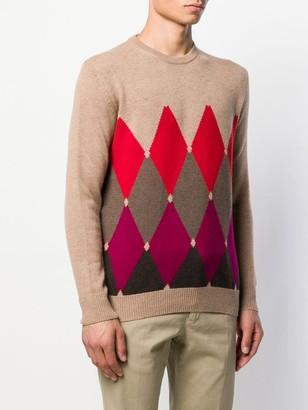 Ballantyne patterned sweater