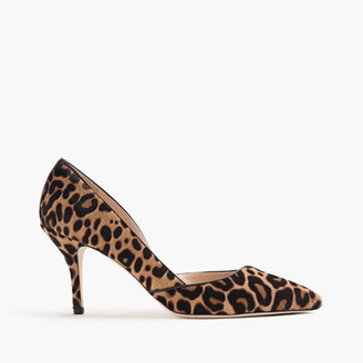 Colette d'Orsay pumps in leopard calf hair $378 thestylecure.com