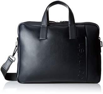 Calvin Klein Jeans Elevated Logo Slim Laptop Bag, Men's7x28x38 cm (B x H T)