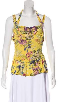 Etro Printed Sleeveless Top