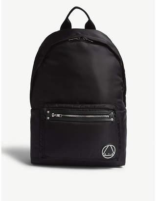 McQ Black Nylon Loveless Backpack