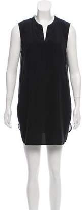 Vince Sleeveless A-Line Mini Dress