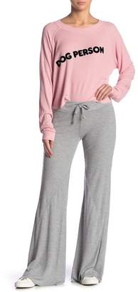 Wildfox Couture Corso Flared Thermal Sweatpants