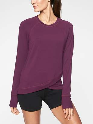 Athleta Criss Cross Sweatshirt