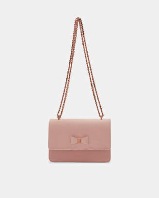 Ted Baker DORIIS Bow detail leather cross body bag