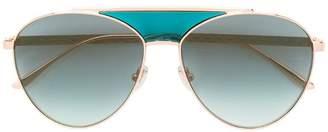 Jimmy Choo Eyewear aviator sunglasses