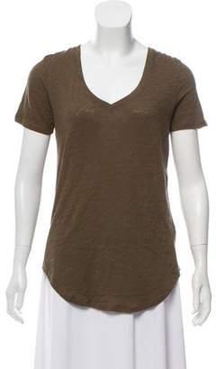 ATM Anthony Thomas Melillo V-Neck Short Sleeve T-Shirt