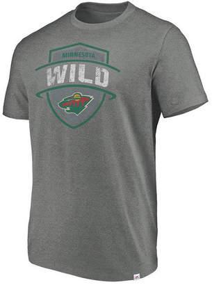 Majestic Men Minnesota Wild Flex Classic Tri-Blend T-Shirt