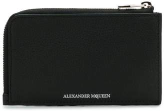 Alexander McQueen Zip Coin Card Holder wallet