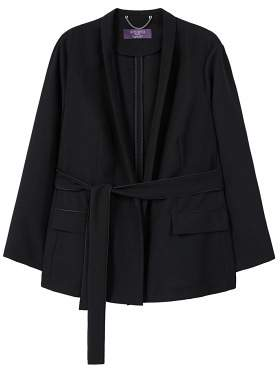 Violeta BY MANGO Unstructured flowy blazer