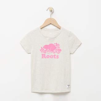 Roots Girls Original Cooper Beaver T-shirt