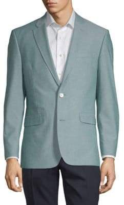 Tommy Hilfiger Notch Lapel Cotton Jacket