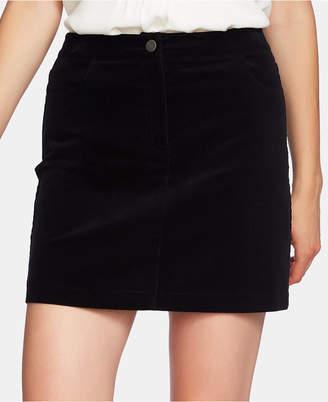 1 STATE 1.state Corduroy Mini Skirt