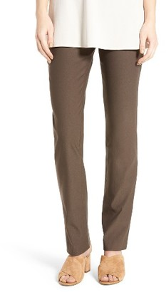 Women's Nic+Zoe Wonder Stretch Straight Leg Pants $128 thestylecure.com