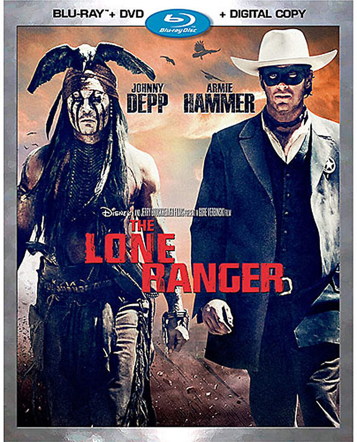 Disney The Lone Ranger Blu-ray Combo Pack