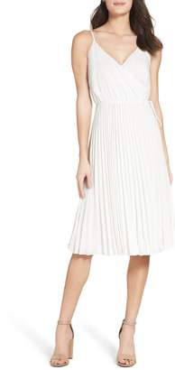 Ali & Jay Lily Pond Pleated Midi Dress