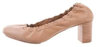 See by Chloe Jane Leather Pumps